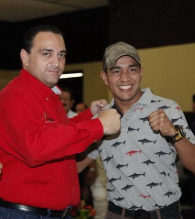 """OTRA DEL 'YEYO' THOMPSON: Acusan al boxeador, otrora """"orgullo de Quintana Roo"""", de golpear a su madrastra y romperle la nariz a su medio hermano"""