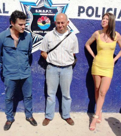 Liberarán a la 'chica de amarillo' y a los 2 hombres detenidos por disparos en Isla Dorada