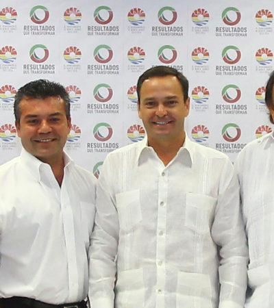 A FALTA DE PAN, TORTILLAS: Ungen al felixista Mauricio Góngora como representante de los Alcaldes priistas de QR ante la FENAMM