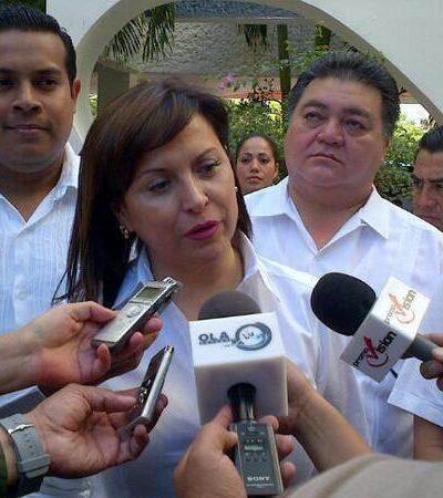 """Llega a Cancún senadora priista Cristina Díaz y declara: Homologación del IVA, """"medida justa"""""""