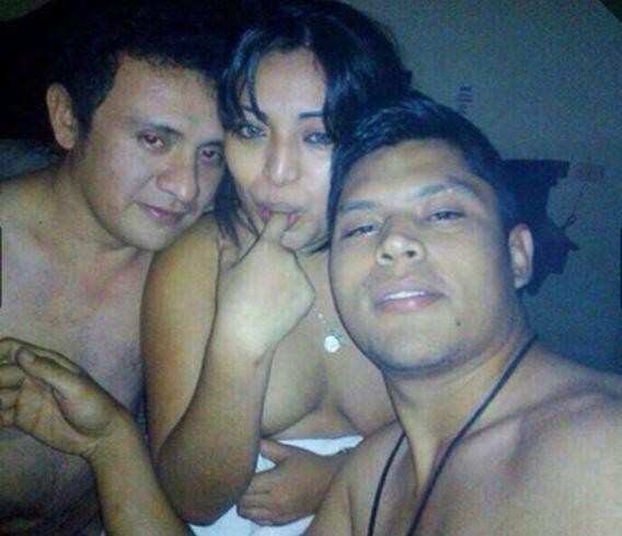 Escándalo por fotos de funcionario yucateco en un trío sexual