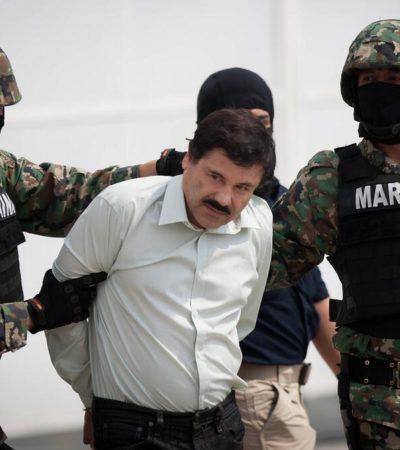 CAE 'EL CHAPO' GUZMÁN EN MAZATLÁN: Confirma Peña Nieto captura del capo del Cártel de Sinaloa; la detención, en un hotel la mañana de este sábado, precisan; lo trasladan a prisión