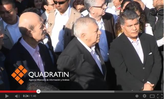 APEDREAN CONVOY DE CHUAYFFET: Maestros del CNTE en Morelia agreden al Secretario de Educación