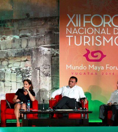 XII FORO NACIONAL DE TURISMO: Plantean mejorar conectividad y calidad en destinos del Mundo Maya