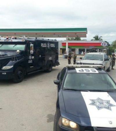 Recuperan 3 vehículos robados en retén en Rancho Viejo