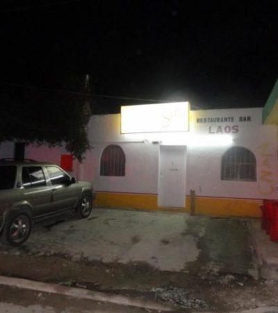 EJECUCIÓN A QUEMARROPA: Hombre asesinado en Puerto Morelos recibió 9 disparos cuando se refugió en un bar