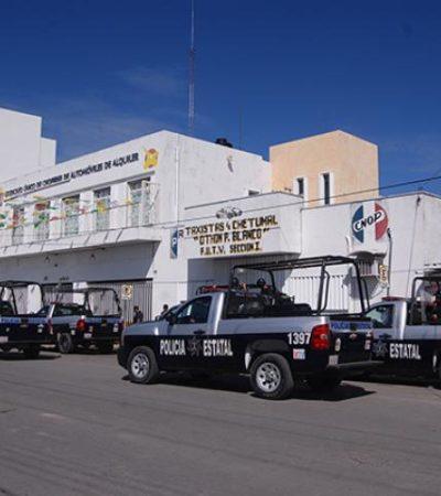 Por el temor de ser destituido, líder de taxistas en Chetumal no realiza asamblea mensual