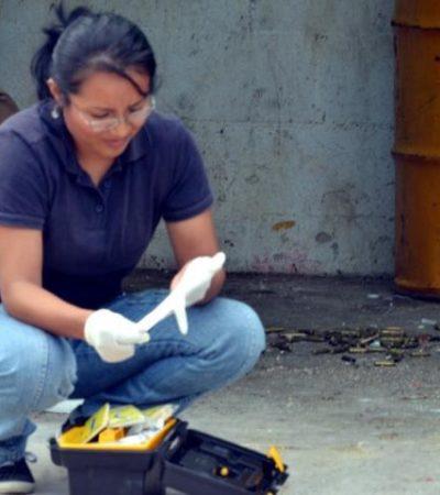 Encuentran 100 casquillos percutidos en un contenedor de basura en Cancún