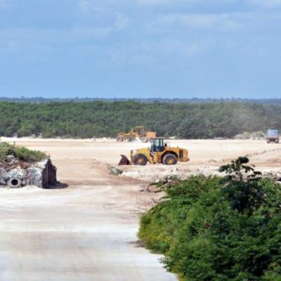 AVANZA 'DRAGON MART' EN SIGILO: Aceleran obras de la primera etapa en medio de dudas sobre viabilidad del proyecto