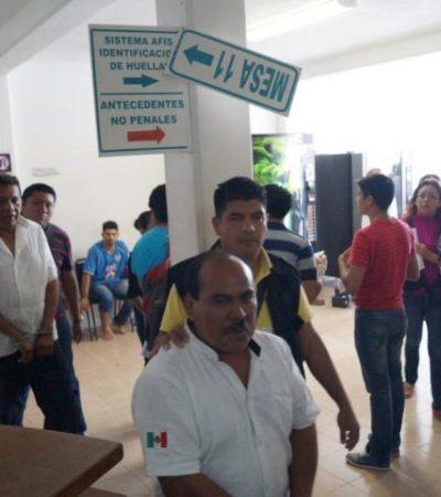 TAXISTAS, EN LA CÁRCEL: Ingresan al penal de Cancún a 44 choferes detenidos en el bloqueo de carretera