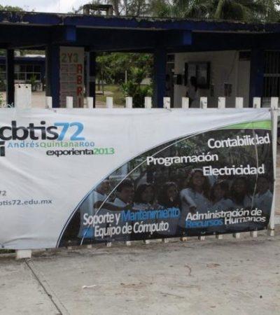 """Revuelo por video porno de trabajadora del CBTIS en FCP; director fija postura: """"es su vida privada"""""""