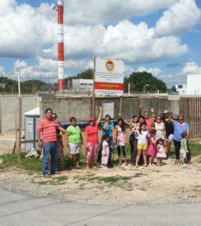 Rechazan vecinos construcción de motel en colonia de Playa de Carmen