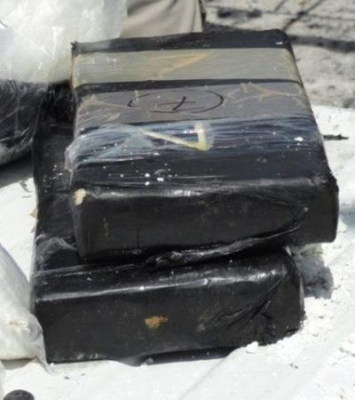 Recalan 2 kilos de cocaína base en la costa oriental de Cozumel