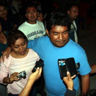 Paga su fianza y sale libre 'Mama Lucha', líder 'moral' de los taxistas de Tulum