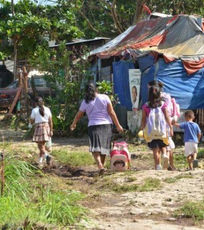 LOS CONTRASTES DE CANCÚN: Al menos un 27% de la población oscila entre la pobreza y la pobreza extrema