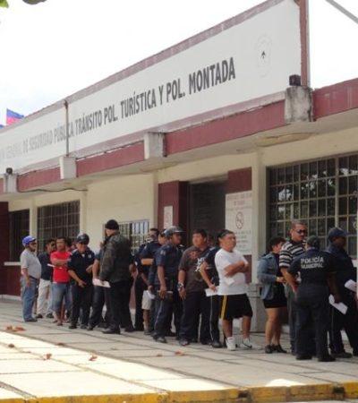 Se quejan policías de nuevos atrasos en el pago de la nómina en Cozumel