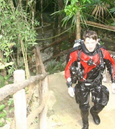 Encapuchados, asaltan a mano armada a turistas en el cenote 'Taj Mahal' de la Riviera Maya