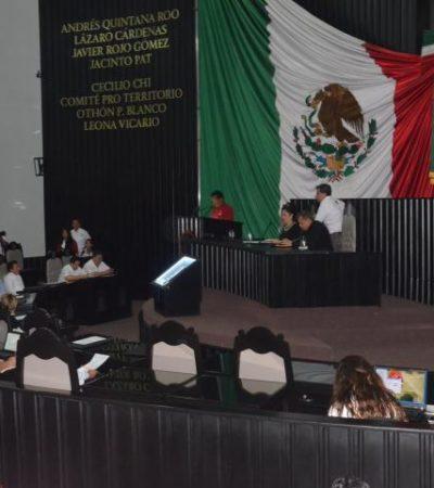 Aprueba Congreso de QR presentar nueva controversia constitucional por conflicto limítrofe con Campeche y Yucatán