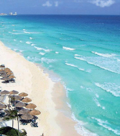 Dos playas de Cancún, entre las seis que buscarán certificación internacional 'Blue Flag'