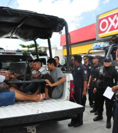 PAUL CARRILLO, EL RECAUDADOR: Autoriza Alcalde implementar las 'razzias' en Cancún y detienen a 106 personas en el primer día