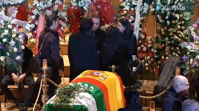 EL ADIÓS A PACO DE LUCÍA: Despiden en Madrid al maestro de la guitarra española fallecido el martes en Playa del Carmen