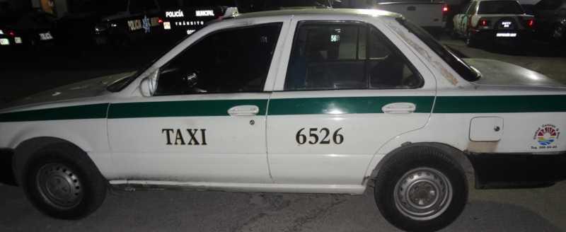 Recuperan auto robado desde el 2006 que era utilizado como taxi en Cancún