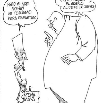 CARTÓN INVITADO – Prohibido manifestarse – Por D'Santos