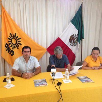 Anuncia PRD acción de inconstitucionalidad y amparos federales contra Ley de Ordenamiento Social
