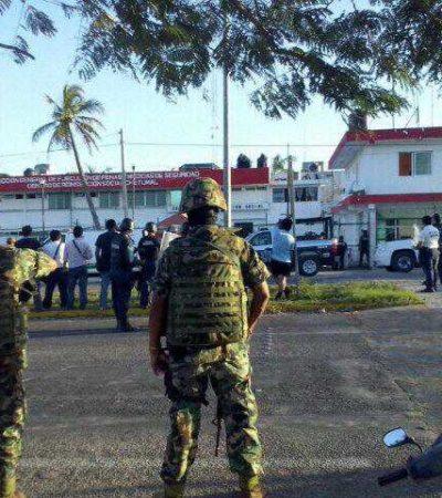 MOTÍN EN EL CERESO DE CHETUMAL: Más de 300 reclusos se rebelan contra operativo sorpresa de Villa en la cárcel; saldo de al menos 6 reos y 3 policías heridos; controlan protesta después de más de 2 horas