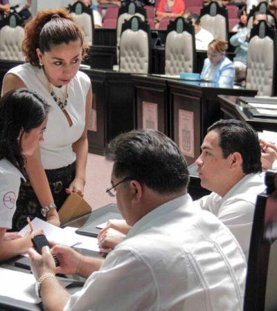 CONSUMA CONGRESO OTRO ALBAZO: Por mayoría, avalan nueva ley para restringir manifestaciones en QR; a favor, PRI y PVEM; en contra, PAN, PRD y PT