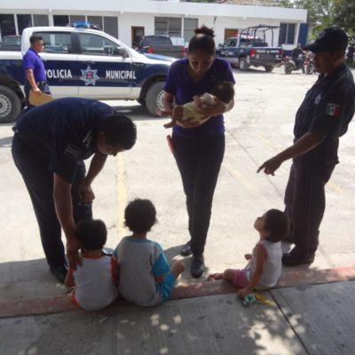 Identifican a la madre de 4 niños rescatados por el DIF en la SM 518