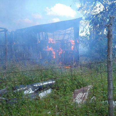QUEMAZÓN EN 'LA UNIÓN': Destruye fuego 4 palapas y 13 familias resultan afectadas