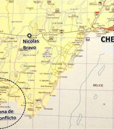 METEN PRESIÓN A TERRITORIO EN DISPUTA: Ejecuta Campeche desalojo en zona de conflicto limítrofe con Quintana Roo