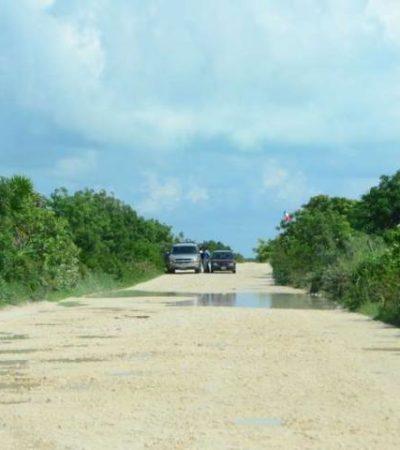 Convierten a Punta Sam e Isla Blanca en 'tiradero de cadáveres'