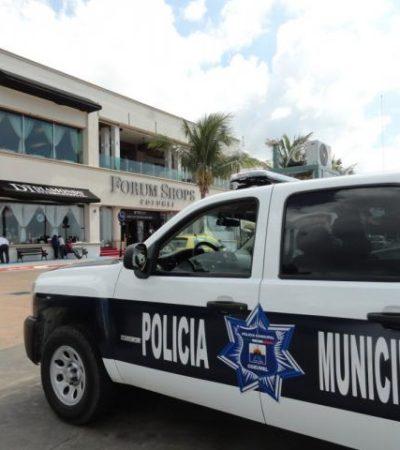 Refuerzan seguridad en torno a joyerías en Cozumel