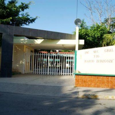 Amagan con huelga de hambre, trabajadores administrativos y manuales de una secundaria en Playa