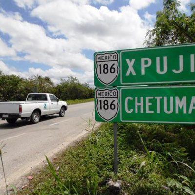 Levantan bloqueo en la carretera Escárcega-Chetumal