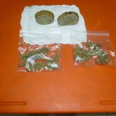 CAE 'INGENIOSO' NARCOMENUDISTA: Traía pan elaborado con hojas de marihuana en Playa del Carmen