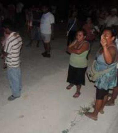 Desalojan en el fraccionamiento 'La Selva' de Cancún a 107 familias que se se hicieron de terrenos por un fraude