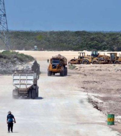 Pese a posibilidad de clausura, reanudan obras del 'Dragon Mart' en el predio 'El Tucán'