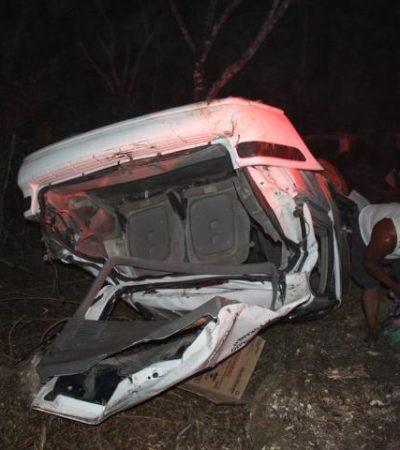 Muere chofer de la Untrac al salirse de la carretera cuando se dirigía a Chumpón
