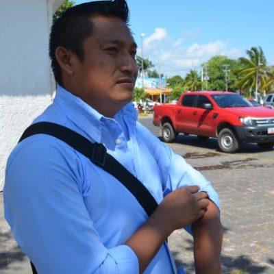 Cesado por no pasar exámenes, policía lesionado en Chetumal reclama indemnización
