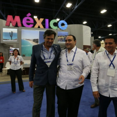 Viaja Borge a Miami para congreso de cruceristas