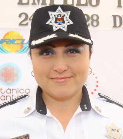 SE QUEDA CANCÚN SIN JEFA DE LA POLICÍA TURÍSTICA: Trasciende renuncia de Bibian Castillo Dzul
