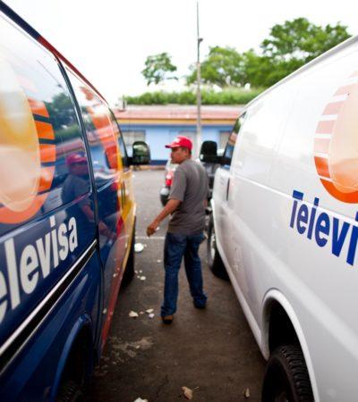 """Se dice Televisa víctima de una """"campaña de desprestigio"""" por investigación de sus enjuagues financieros"""