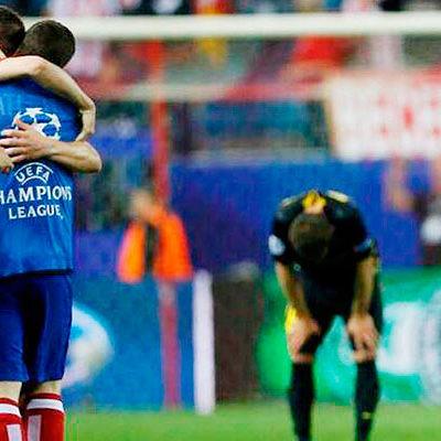 Elimina el Atlético de Madrid al Barcelona y avanza a semifinales de la 'Champions' por primera vez en 40 años