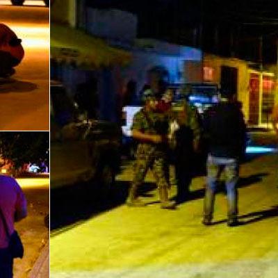 BALEAN A TRES EN CANCÚN: Disparan sicarios contra un marino y acompañantes en la Región 76