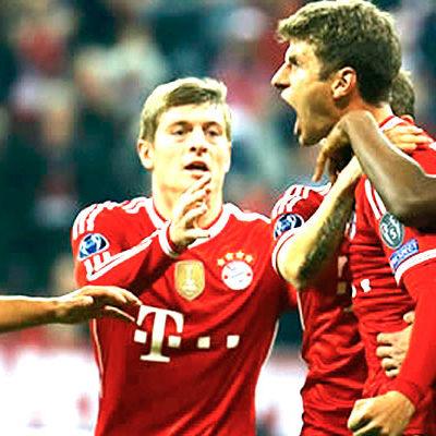 Derrota el Bayern Munich al Manchester United y buscará bicampeonato en la 'Champions'