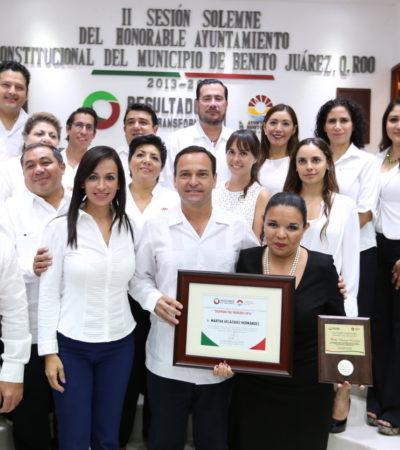 ENTREGAN MEDALLA 'SIGFRIDO PAZ PAREDES': Reconoce Cancún a cónsul, empresaria y promotora del turismo ruso