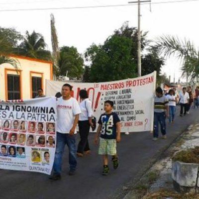 Marchan en FCP contra la 'Ley Antimarchas'